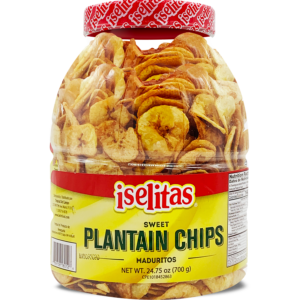 Iselitas Plantains Sweet Party Size Jar – 6/26.45 oz