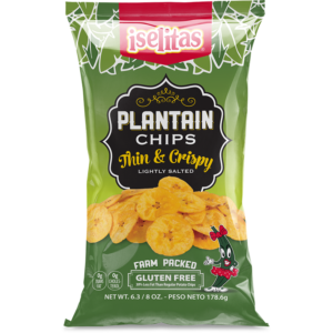 Iselitas Family Size Plantain Chips – 14/6.375 oz