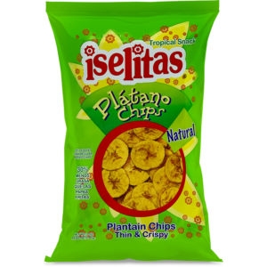 Iselitas Regular Plantain Chips – 20/3 oz